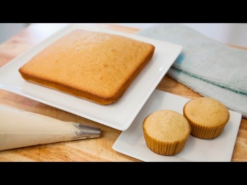 HOW TO MAKE VANILLA CAKE/CUPCAKES