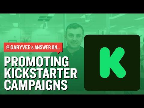 Promoting Kickstarter Campaigns
