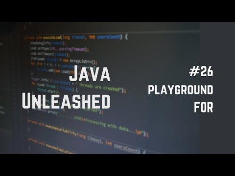 #26 Java For Loop Example