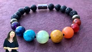 Анна Гак о свойствах камней и обережных браслетах с горы Шаста! Чакральный браслет для баланса