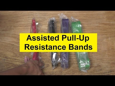 Unboxing of Assisted Pull-Up Resistance Band Set