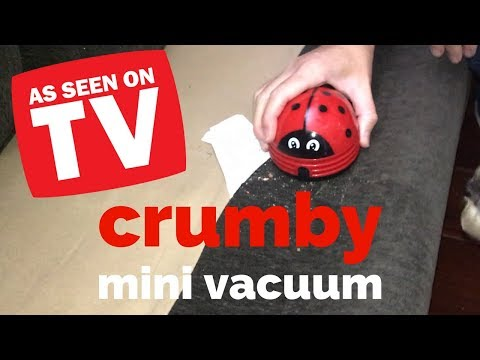 Crumby Mini Vacuum Review - As Seen On TV