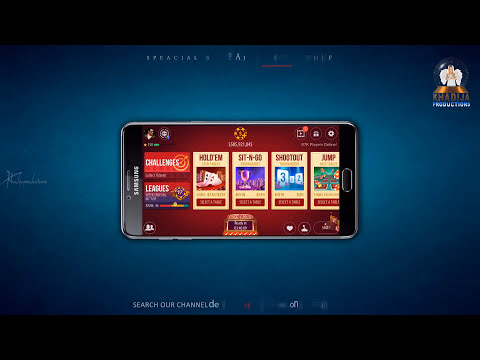 Zynga Poker 2017 Get 9,375,000 Chips 5,000 Experiencs Points and 2 Gold Daily | Khadija Productions