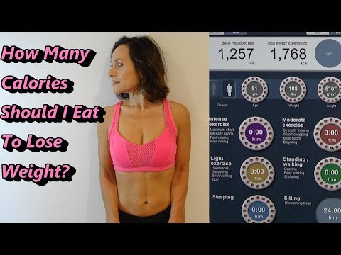 HOW MANY CALORIES SHOULD I EAT TO LOSE WEIGHT? Accurate Online Calculator/DEXA Scan