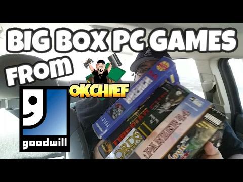 Okchief Video Game Hunting EP. 252 Goodwill Big Box PC Games