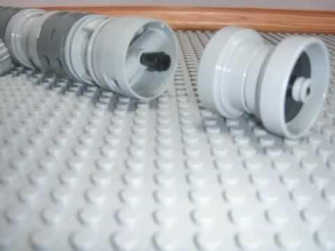 Lego lightsaber building
