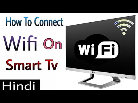 How To Connect Wifi On Sony Bravia - And Any Smart Tv [Hindi]