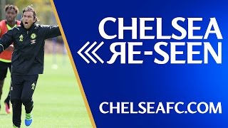 CHELSEA RE-SEEN: EPISODE 15 -  Conte training, Player of the Month and a cracker from Hasselbaink!