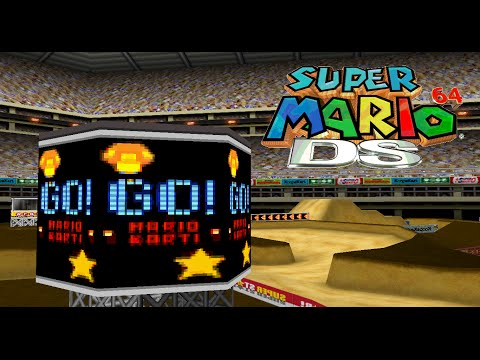 DS WARIO STADIUM in SUPER MARIO 64 DS [custom level]