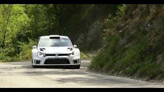 Polo R WRC 2017 tests Ogier/Ingrassia