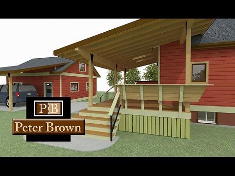 South Black Avenue Covered Patio Design