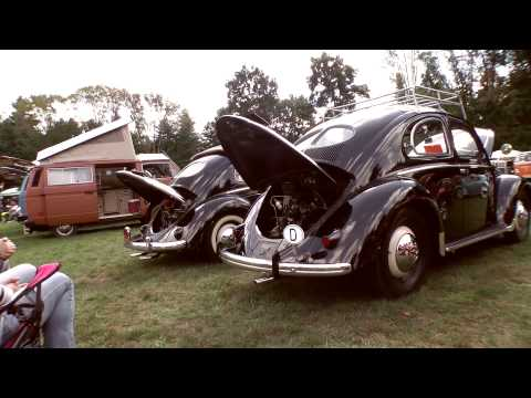 Classic VW BuGs Flanders NJ All Air-Cooled Beetle Gathering 2012 Pt.1
