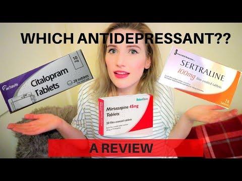 My Experience Taking ANTIDEPRESSANTS || Sertraline, Mirtazapine and Citalopram REVIEW