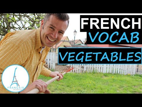French VEGETABLES Vocabulary - Les Légumes + FUN! (Learn French with Funny French Lessons)