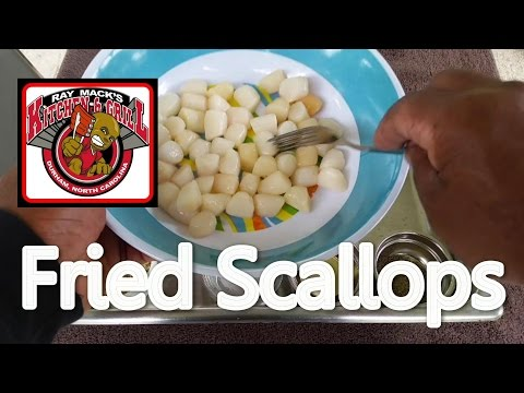 How To Cook The Best Deep-Fried Scallops: World's Best Deep Fried Scallop Recipe