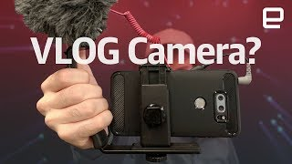 Is the LG V30 good enough to VLOG with?
