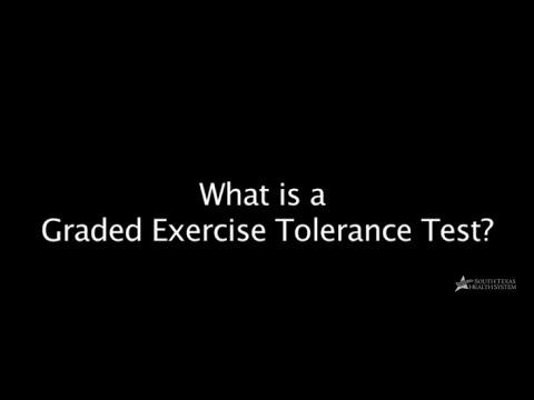 Graded Exercise Tolerance Test, Stress Test