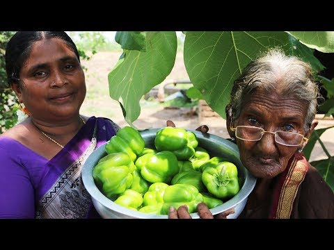 Capsicum Tomato Curry prepared by mastanamma || Country foods