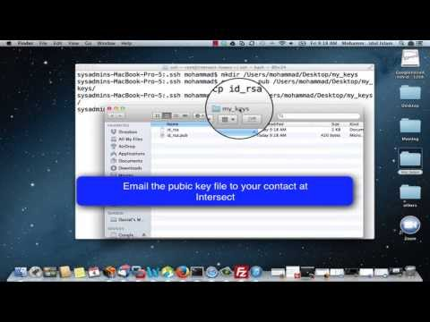 How to generate SSH keys on a Mac