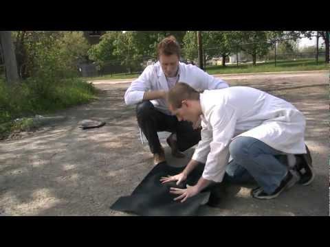 Students Invent a Better Pothole Patch