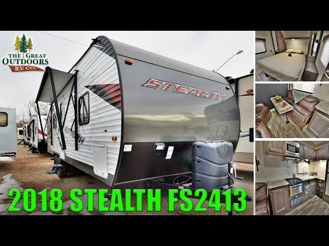 New 2018 Toy Hauler FOREST RIVER STEALTH FS2413 Travel Trailer Camper RV Colorado