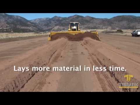 AggreScreed - Gravel Grader - Road Building - Road Construction - Gravel Screed - Grading Roads