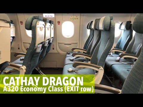 Cathay Dragon KA379 Okinawa to Hong Kong (economy class)