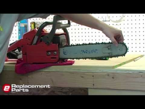 How to Tension a Chainsaw Chain