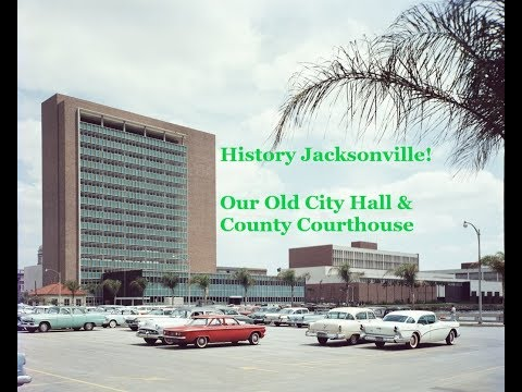 Our Old City Hall & Duval County Courthouse on Bay Street-See them before they're demolished