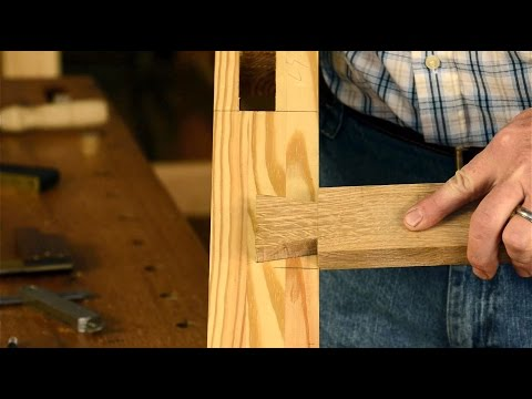 How to Cut a Half Blind Lap Dovetail Joint with Hand Tools