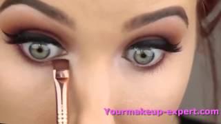 احلى مكياج العيون العصرية - مع خبيرة مكياج