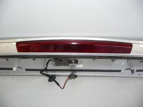 How to Remove and Replace third brake light SEAT VW SKODA