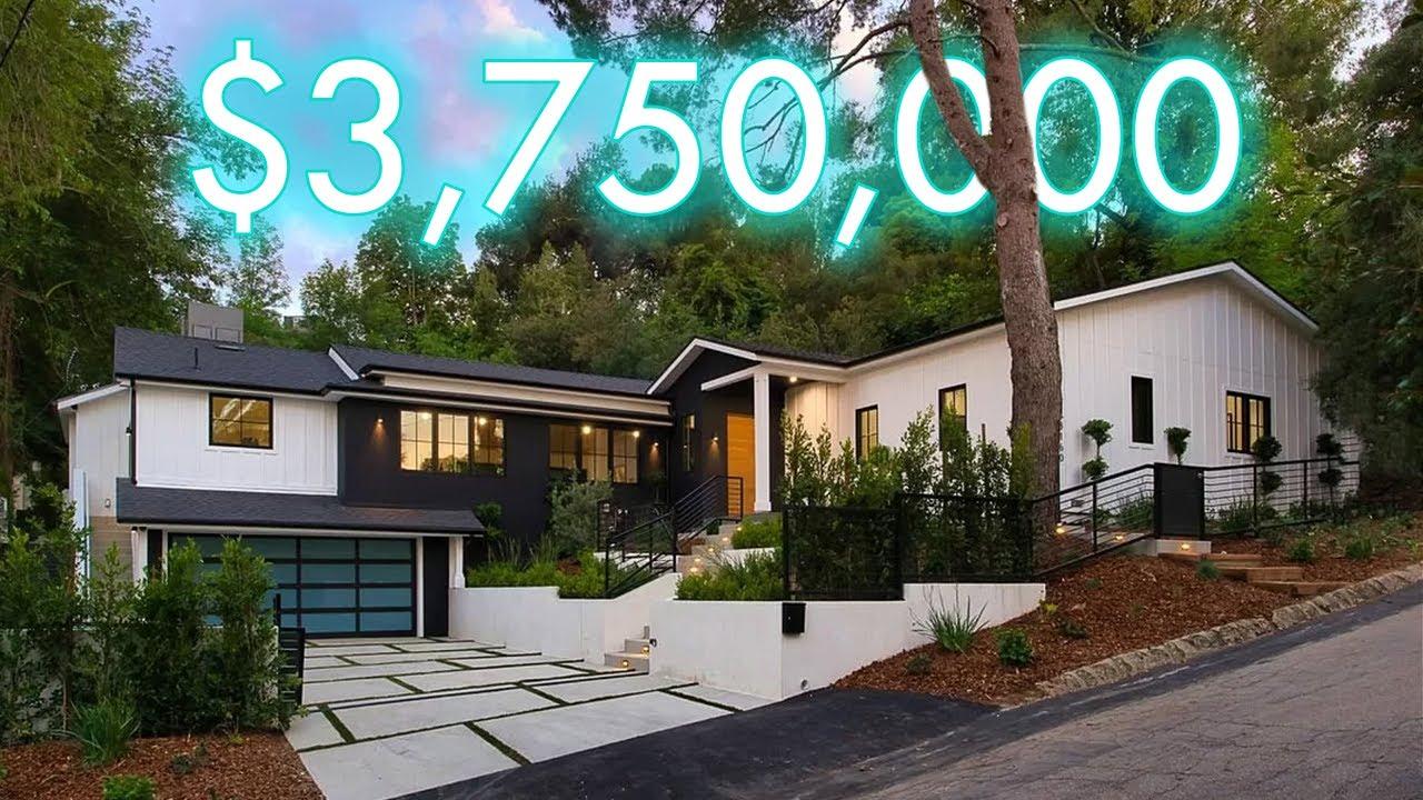 INSIDE A $3,750,000 HOLLYWOOD HILLS Modern Farmhouse