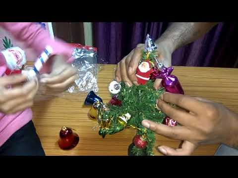 How To Make A Small Christmas Tree ।। Christmas Special ।। MERRY CHRISTMAS