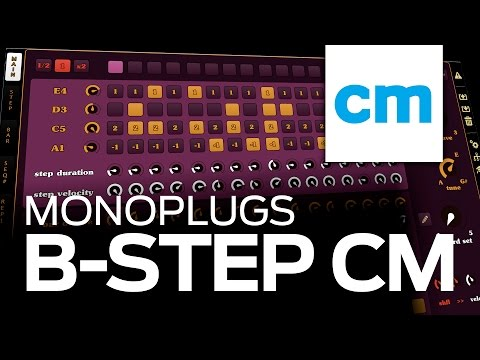 Funky disco chords with Monoplugs B-Step CM - FREE VST/AU sequencer