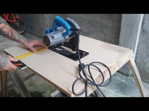 Quick Build DIY MDF Table Saw