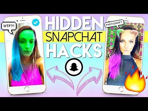 11 NEW HIDDEN SNAPCHAT HACKS!! Photoshop On Snapchat?!