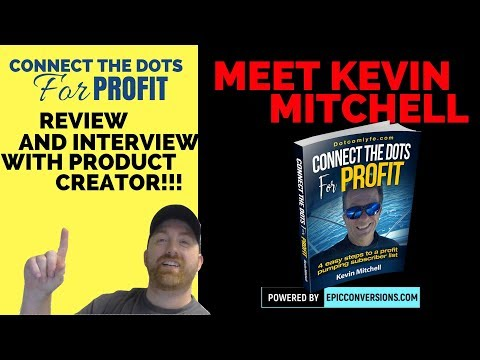 Connect The Dots to Profit Review and Interview with Creator Kevin Mitchell