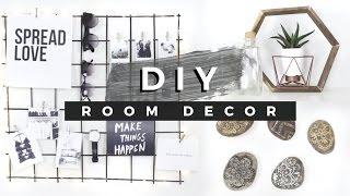 DIY Room Decor Tumblr Inspired! (Dollar Store DIYs)