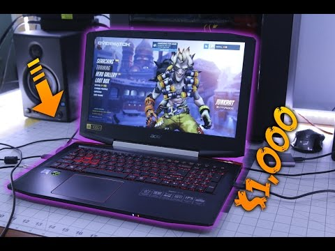What can the $1,000 Acer aspire VX 15 Do?
