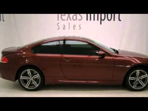 Pre-Owned 2008 BMW M6 COUPE Dallas TX