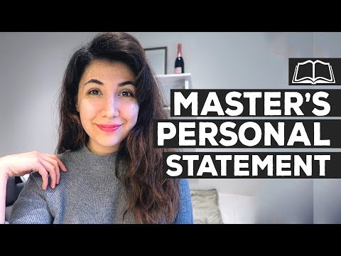 How to write a Personal Statement for Master's (Postgraduate) | King's College London | Atousa