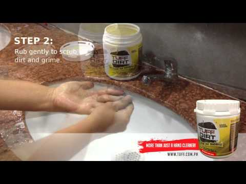 TuffDirt - How to remove Dried Ink On your Hands