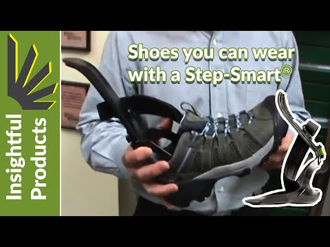 Drop foot shoes - Fitting Step-Smart AFO in Shoes