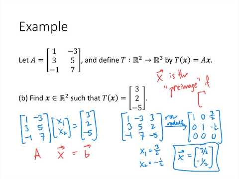 Linear Algebra - Lecture 17 - Matrix Transformations
