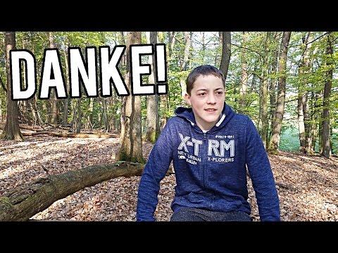 Großes Danke! Video im Wald!