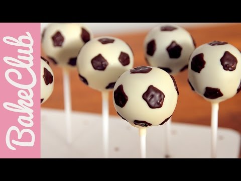 Fußball Cake Pops | BakeClub