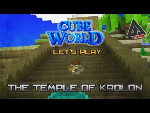 Cube World - Let's Play Part 1: The Temple of Krolon