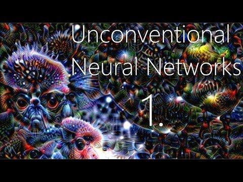 Generative Model Basics - Unconventional Neural Networks p.1