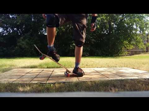 LEARNING TO OLLIE IN A DAY